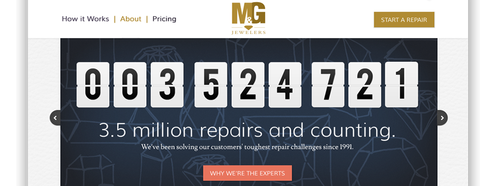 M&G DIRECT | Customer-friendly e-commerce web content designed for conversion.